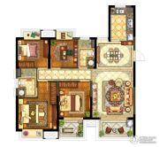 保利堂悦4室2厅2卫128--133平方米户型图