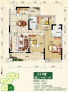 正元七里香溪3室2厅0卫0平方米户型图