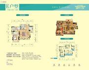 时代天骄3室2厅2卫102--104平方米户型图