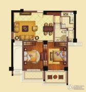 海洲新天地广场3室2厅1卫103平方米户型图