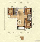 印象青城3室2厅2卫139平方米户型图