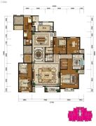 中湖・珐琅印4室2厅3卫0平方米户型图