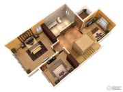 隆豪翡翠星城307平方米户型图