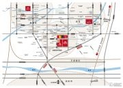 绿都温莎城邦交通图