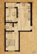 海德堡家园2室1厅1卫45平方米户型图