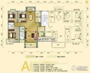 锦豪雍景园3室2厅2卫135--140平方米户型图