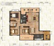 万佳一品・尚书茗苑3室3厅2卫131平方米户型图