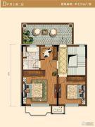 中冶沁海云墅2室0厅0卫129平方米户型图