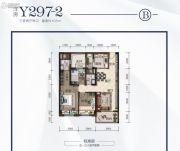 荆州碧桂园3室2厅2卫105平方米户型图