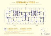 青岛恒大金沙滩3室2厅2卫108--158平方米户型图