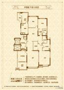 恒大御景4室2厅3卫282平方米户型图