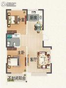 晟宝龙广场2室2厅1卫0平方米户型图