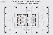 珠江国际商务港1室1厅1卫0平方米户型图