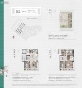 绿城义乌桃花源5室2厅3卫200平方米户型图