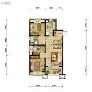 万科圣丰・翡翠之光3室2厅1卫94平方米户型图