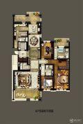 金地天境3室0厅0卫0平方米户型图