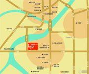 嵊州新城吾悦广场交通图