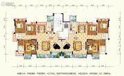 水润东都3室3厅2卫136--138平方米户型图