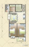 北海庄园2室1厅1卫112平方米户型图