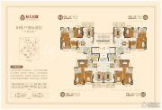 潮州恒大名都3室2厅2卫120平方米户型图
