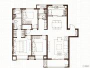 万科尚都荟3室2厅2卫135平方米户型图