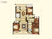 润富国际花园4室2厅2卫179平方米户型图