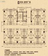 恒生・壹号广场1室0厅1卫0平方米户型图
