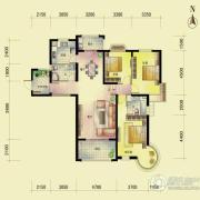 东方名城3室2厅2卫146平方米户型图