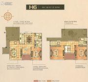 碧桂园梅公馆3室2厅3卫170平方米户型图