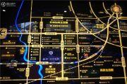 蓝光圣菲悦城交通图