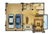 中建・锦绣珑湾 高层140平方米户型图