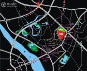 汇隆缤纷世家交通图