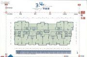 珠光御景骏庭1室1厅1卫63--134平方米户型图