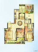 华强城5室2厅4卫252平方米户型图