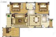 中国城建伦敦公元3室2厅1卫115平方米户型图