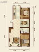 森晟江湾馨城2室2厅1卫0平方米户型图