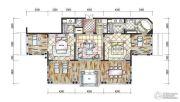东和福湾2室2厅2卫166平方米户型图
