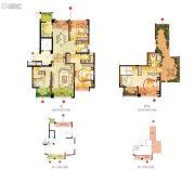 宏泰风花树5室2厅3卫184平方米户型图