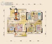 碧桂园公园壹号4室2厅2卫143平方米户型图