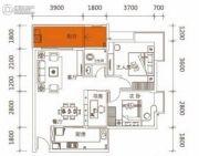 佳兴大厦2室2厅1卫61平方米户型图