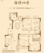 万科南湖郡4室2厅2卫0平方米户型图