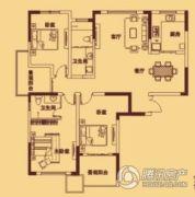 宏伟西雅图3室2厅2卫144平方米户型图