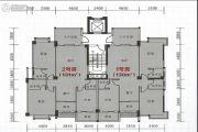 海悦名庭3室2厅3卫131平方米户型图