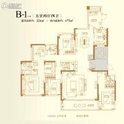 金辉御江府5室2厅4卫0平方米户型图