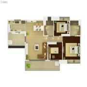 葛洲坝保利曼城3室2厅2卫113平方米户型图