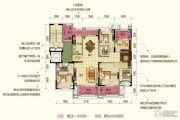 保利中央公园3室2厅3卫0平方米户型图