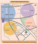 房信彩虹城交通图
