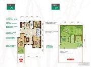 昂展公园里3室2厅2卫137平方米户型图