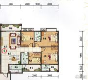 府前雅居苑3室2厅2卫143平方米户型图