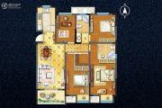 宇业天逸华庭4室2厅2卫146平方米户型图